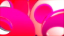 Royalty Free HD Video Clip of Pink and White Ovals