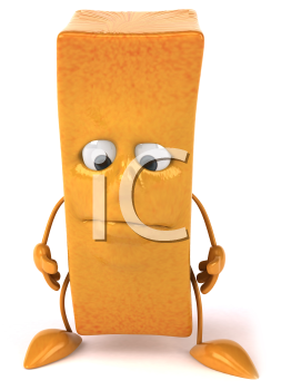 Royalty Clipart Free Image of a French Fry