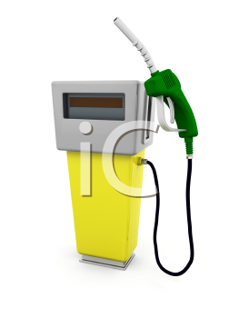 Royalty Free Clipart Image of a Fuel Pump