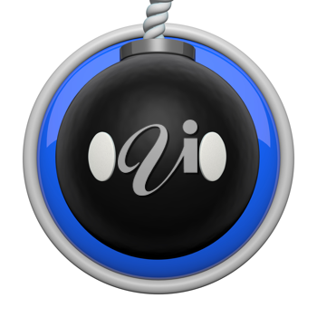Bomb character icon.