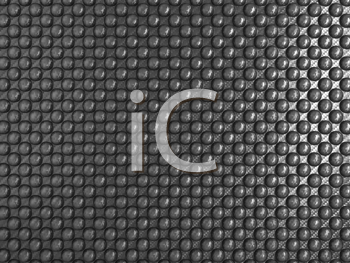 Royalty Free Clipart Image of Abstract Carbon Fiber With Pimples