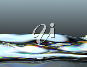 Oil or gasoline waves with oily pattern. Large resolution