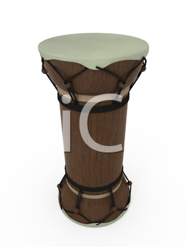 Royalty Free Clipart Image of a Drum