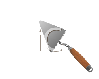 Royalty Free Clipart Image of a Trowel