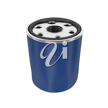 Royalty Free Clipart Image of an Oil Filter