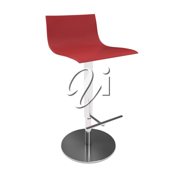 Royalty Free Clipart Image of a Stool