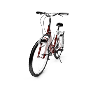 Royalty Free Clipart Image of a Bicycle
