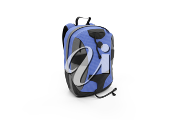 Royalty Free Clipart Image of a Backpack