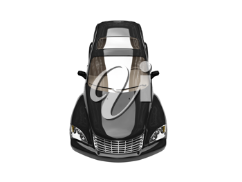 Royalty Free Clipart Image of a PT Cruiser