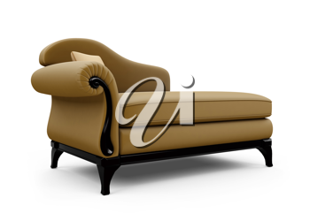 Royalty Free Clipart Image of a Sofa