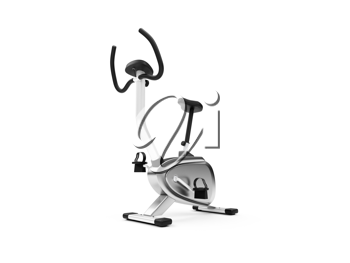 Royalty Free Clipart Image of an Exercise Bike