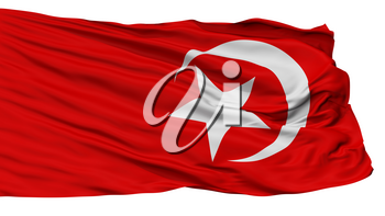 Nation Of Islam Flag, Isolated On White Background, 3D Rendering