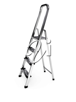 Royalty Free Clipart Image of a Ladder