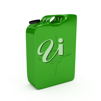 Royalty Free Clipart Image of a Jerrycan