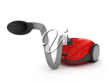 Royalty Free Clipart Image of a Vacuum