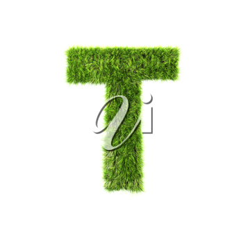Royalty Free Clipart Image of a Letter 'T'