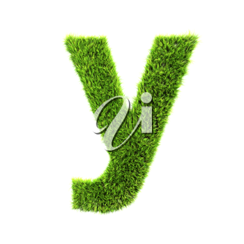 Royalty Free Clipart Image of a Letter 'y'