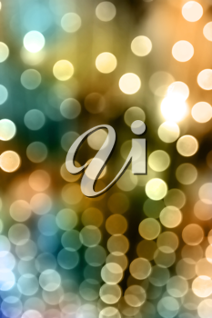 Royalty Free Clipart Image of Out of Focus Lights