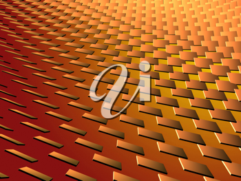 Abstract background with 3d stucture