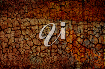 An old and crackled wall texture - grunge background