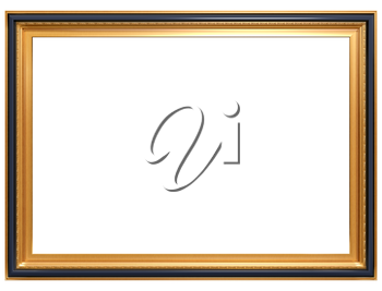 Royalty Free Clipart Image of a Picture Frame