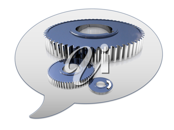 messenger window icon and Gears