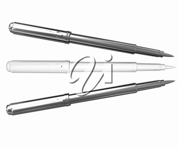 Metall corporate pen design