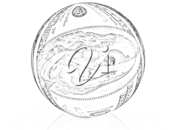 Sphere from  dollar