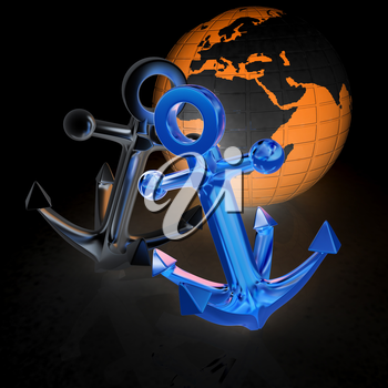 anchors and Earth