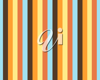 Vertical stripes color background in vintage or retro style.