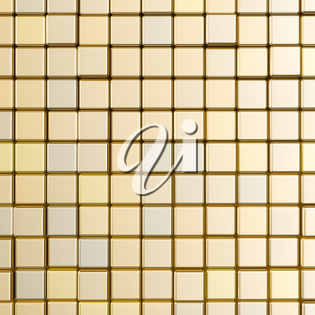Gold background. High quality 3d rendering colors