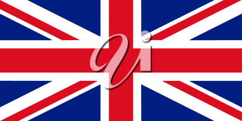 Great Britain Flag 3D illustration