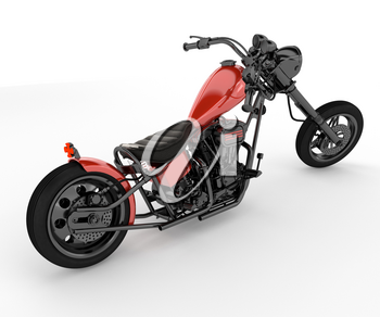 Motorcycle design varies greatly to suit a range of different purposes: long distance travel commuting cruising sport including racing and off-road riding vector color drawing or illustration